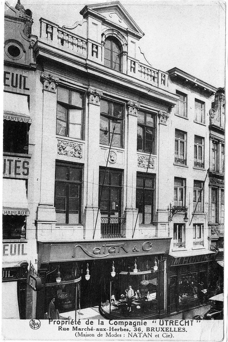 當年 Paul Natan 時裝屋 所在地,後被 Vermeulen 買下 並更名為Natan。作為一個懷舊 的人,他把這裡定為Natan品牌 的總部