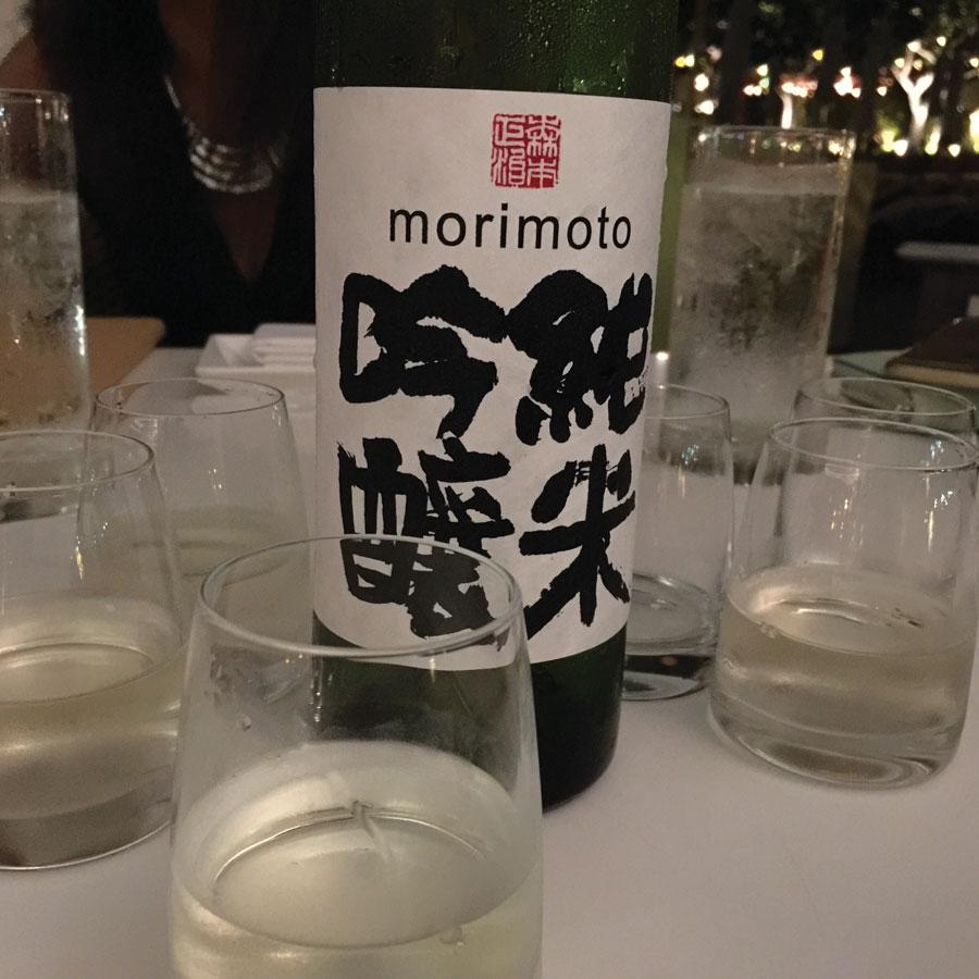 Masaharu Morimoto日本清酒