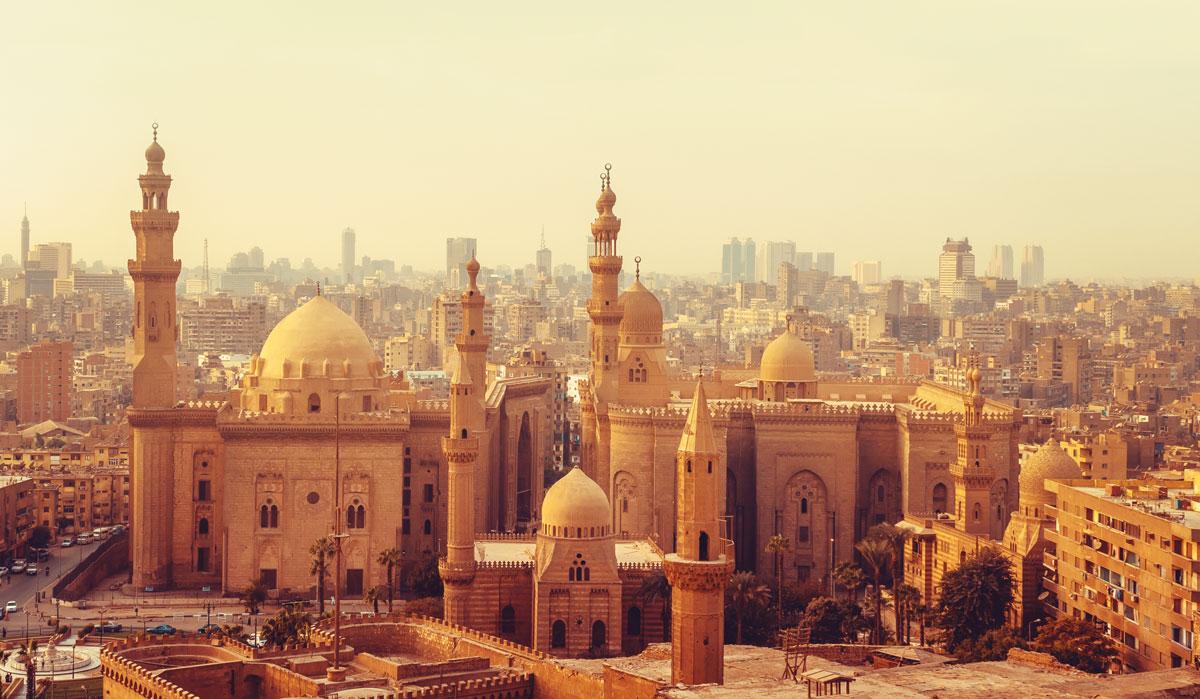 蘇丹哈桑清真寺 金字塔 埃及