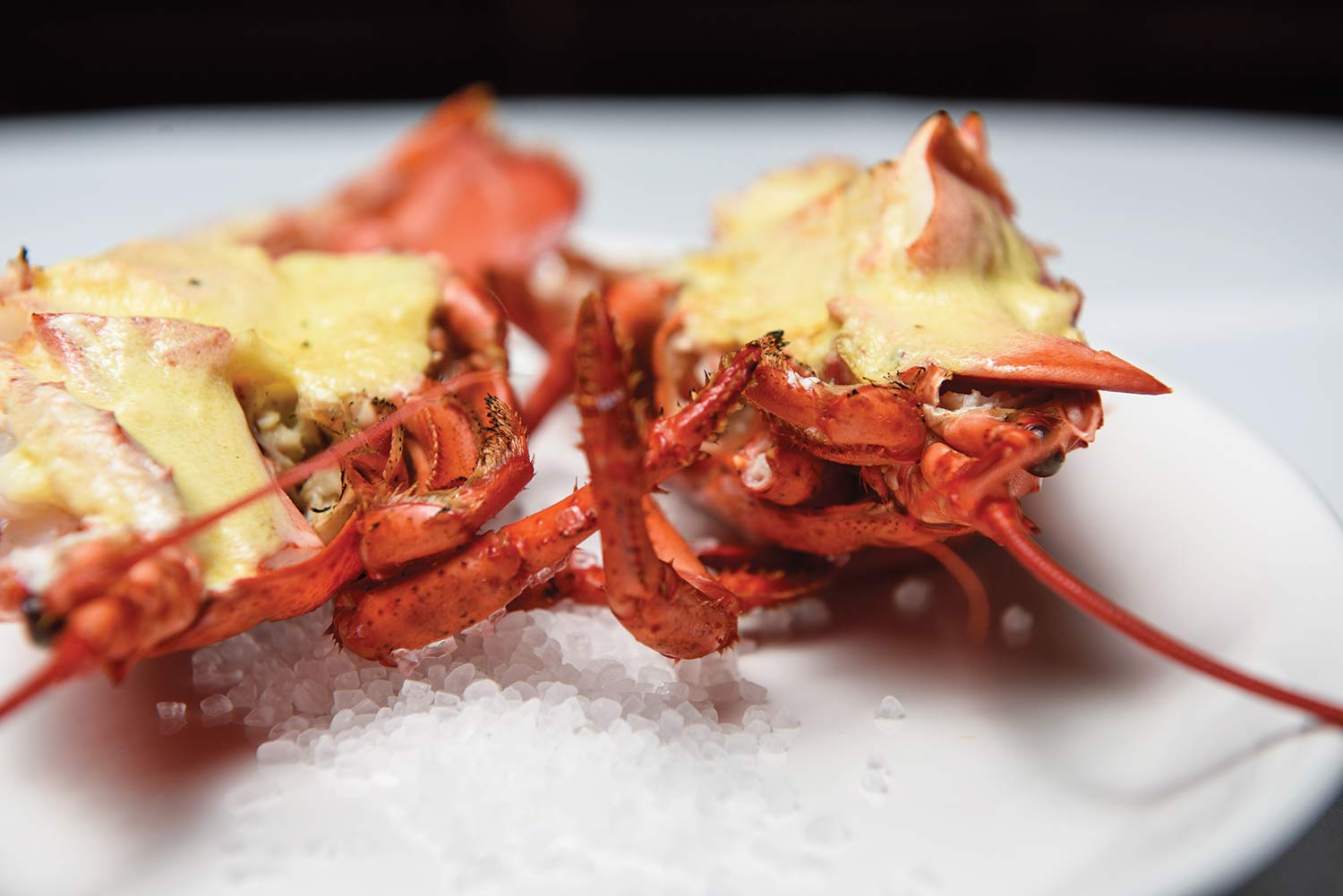 One of Douguet's favourite lobster dishes)