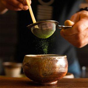 Tea Matcha Gen Ryu Sifting