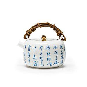 MoriMa Jingdezhen Hand Painted Poems