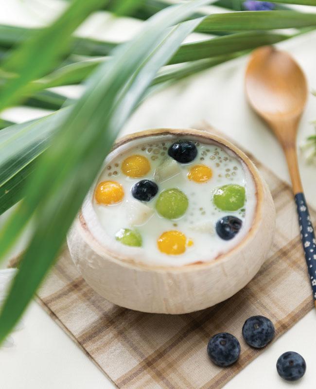 Coconut-Sago-Desert-Soup