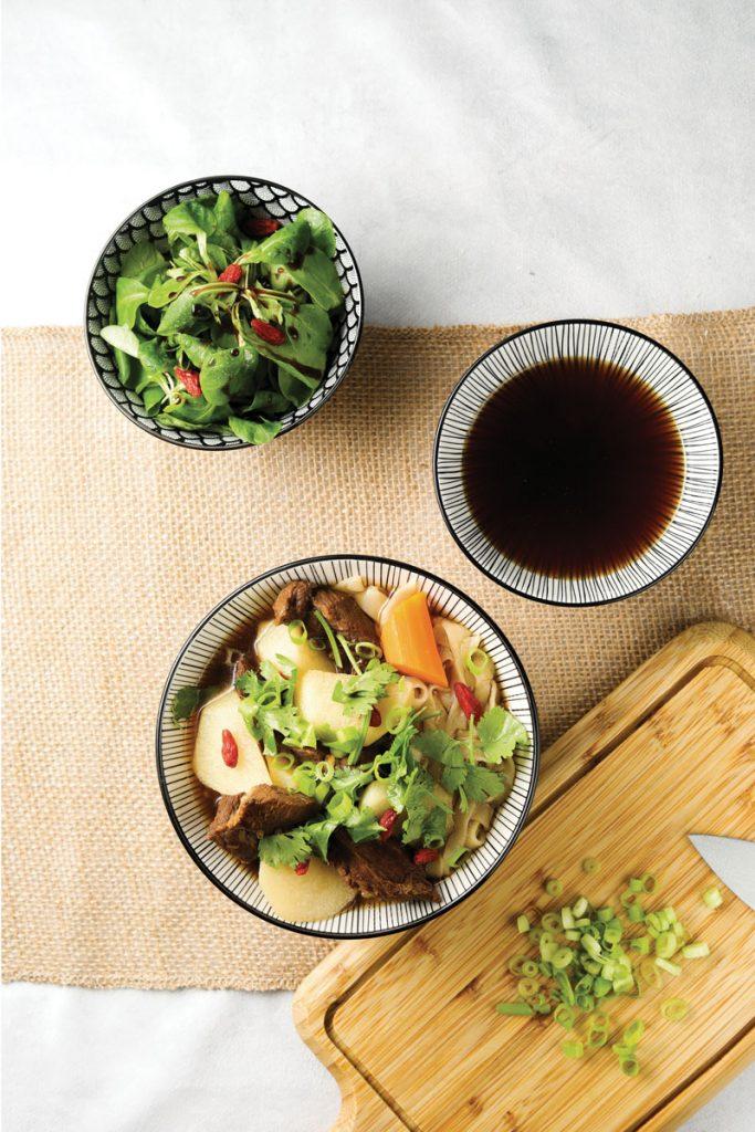 淮山牛肉湯麵